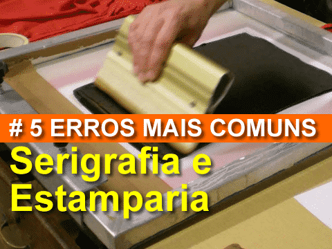 5 Erros de Silk Screen